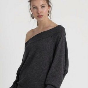 Free People ~ Palisades Off-The-Shoulder Top S